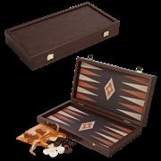 Нарды в деревянном кейсе, цвет венге MP-TXL-2-VV