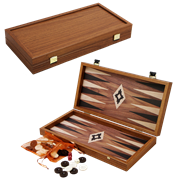Нарды в деревянном кейсе, цвет орех MP-TXL-2-KK
