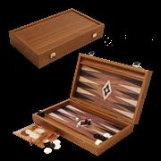 Нарды в деревянном кейсе, цвет орех MP-BXL-2-KK