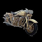 Модель мотоцикла Harley Davidson белый RD-1304-A-5628