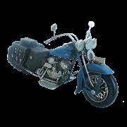 Модель мотоцикла Harley Davidson синий RD-1210-A-5139