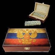 Домино в шкатулке Российские SA-DM-010
