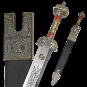 Меч  Юлий Цезарь  в ножнах, медь AG-211-V