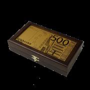 Купюрница c банкнотой 500 Euro HB-MB-EUR