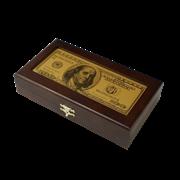 Купюрница c банкнотой 100 USD HB-MB-USD