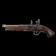 Пистоль системы флинтлок 18 века под левую руку DE-1127-G