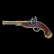 Пистоль под левую руку  системы флинтлок, 18 в. Индия DE-1296-L