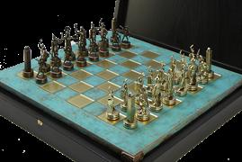 Шахматы оригинальные сувенирные  Троянская война MP-S-4-C-36-TIR