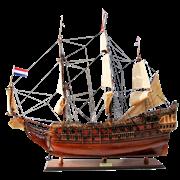 Модель парусника Friesland, Голландия TS-0015-W