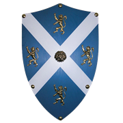 Щит геральдический большой Уильяма Уоллеса, Шотландия AG-879