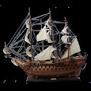 Модель парусника Zeven Provincien, Голландия TS-0016-W