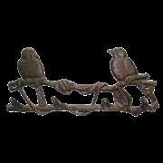 Вешалка настенная  Птички , 4 крючка YM-HK-0626-2