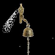 Колокольчик придверный Барокко малый AL-80-211-1