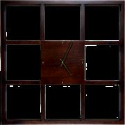Часы настенные деревянные Ч-19