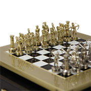 Шахматный набор Античные войны MP-S-15-28-BLA