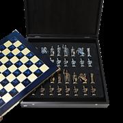 Шахматный набор Греко-Романский период MP-S-3-B-28-BLU