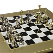 Шахматный набор Стаунтон, турнирные MP-S-32-28-BLA