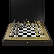 Шахматный набор Троянская война MP-S-4-36-BLA