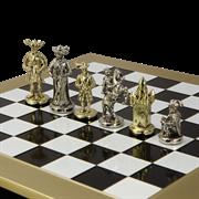 Шахматный набор Рыцари Средневековья MP-S-12-44-BLA