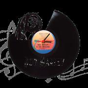 Часы виниловая грампластинка   Bob Marley WL-04