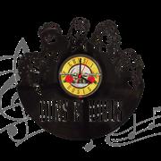 Часы виниловая грампластинка  Guns n Roses WL-07