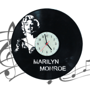 Часы виниловая грампластинка  Marilyn Monroe WL-09