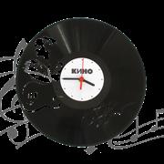 Часы виниловая грампластинка  Цой. Кино WL-10