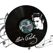 Часы виниловая грампластинка  Elvis Presley WL-11