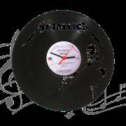 Часы виниловая грампластинка  Metallica WL-14