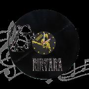 Часы виниловая грампластинка  Nirvana WL-15