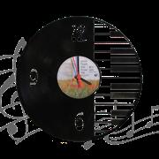 Часы виниловая грампластинка   Piano WL-16