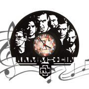 Часы виниловая грампластинка  Rammstein WL-18