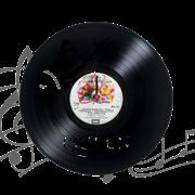 Часы виниловая грампластинка  Queen. Freddy Mercury WL-22
