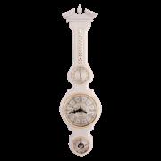 Настенный барометр гигрометр термометр часы М-97-БД