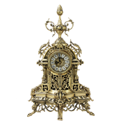 Часы каминные  Пинья  бронзовые BP-27033-D
