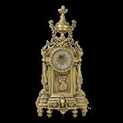 Часы  Дон Луи  c женским профилем каминные бронзовые BP-27018-D