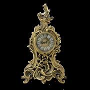 Часы  Сильва  каминные бронзовые BP-27070-D