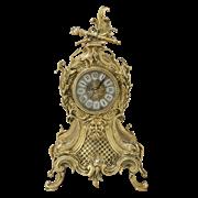 Часы  Карранка  каминные бронзовые  золото BP-27064-D