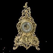 Часы  Луи XIV  каминные бронзовые BP-27076-D