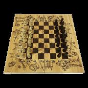 Набор игр шахматы нарды, шашки с доской Рыцари SA-SH-022