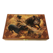 Настольная игра домино Охота на кабана SA-DM-017