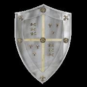 Щит рыцарский средний Черный Принц AG-841
