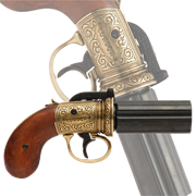 Револьвер  Пепербокс  6 стволов, Англия, 1840 г DE-5071