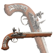 Пистоль дуэльный 1810 г. Boutet DE-1084-NQ