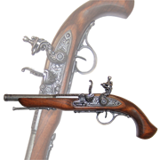 Пистоль  под левую руку 18 в. DE-1129-G