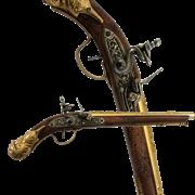 Пистоль немецкий 17 века DE-1314