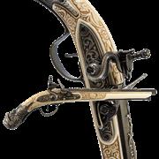Пистоль немецкий 17 века DE-5314