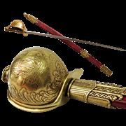 Сабля пиратская в ножнах Хайретдина  Красная Борода , Турция  1478-1546 гг DE-4198