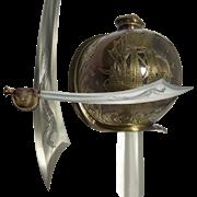 Сабля пиратская ятаган  Хайретдина  Красная Борода , Турция  1478-1546 гг DE-4200
