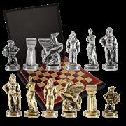 Шахматный набор Древняя Спарта MP-S-16-28-RED